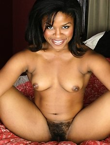 Jada is one of the few hairy babes who have such a tiny tight black pussy.